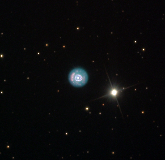 <b>NGC 2392 - The Eskimo Nebula</b>